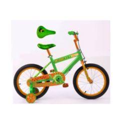 Rugged Racers Dinosaur Kids Bike with Training Wheels