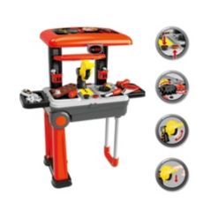 Toy Chef 2-in-1 Portable Tool Station Set