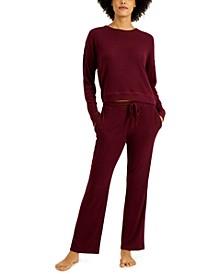 Ribbed Pajama Set, Created for Macy's