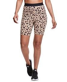 Women's Logo-Print Double Dry Bike Shorts