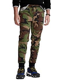 Men's Big & Tall Camo Double-Knit Jogger Pants