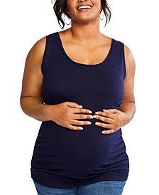 Plus Size Ruched Tank Top