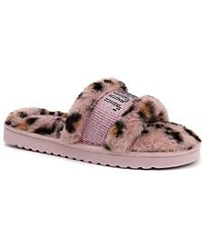 Women's Halo Faux Fur Slippers