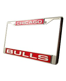 Rico Industries Chicago Bulls Laser License Plate Frame