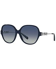 Women's Sunglasses, HC8303B 57