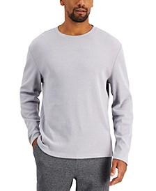 Men's Textured Crewneck Shirt, Created for Macy's