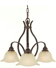 3-Light Morningside Kitchen Chandelier