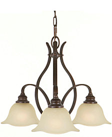 Feiss 3-Light Morningside Kitchen Chandelier