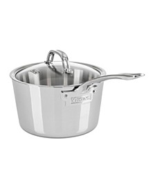 Contemporary 3-Ply, 3.4-Quart Stainless Steel Sauce Pan