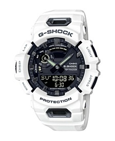White Resin Ana-Digi BLE Steptracker Watch