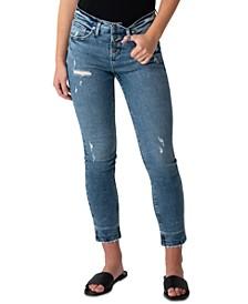 Beau Mid-Rise Slim-Leg Jeans