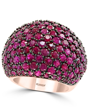 Effy Ruby Dome Ring (9-7/8 ct. t.w.) in 14k Rose Gold
