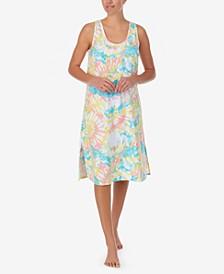 Women's Moisture Wicking Sleeveless Midi Gown