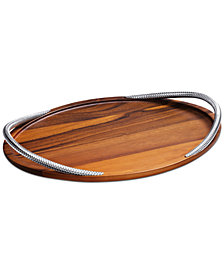Nambe Braid Serving Tray