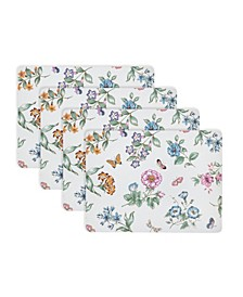 Butterfly Meadow Cork Mat, Set of 4