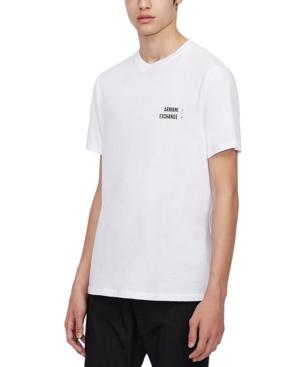 Men's Small Logo Shine Detail T-Shirt