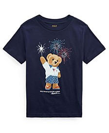 Toddler Boys Polo Bear Cotton Jersey T-shirt