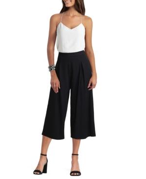 Women's Pleat Crop Wide Pant