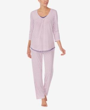 Women's Three Quarter Sleeve Pajama Top