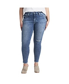 Plus Size Most Wanted Mid Rise Skinny Jeans