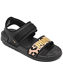 Women's Soft ride Leopard Sandals from Finish Line