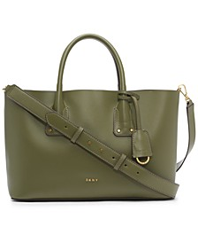 Megan East West Leather Tote