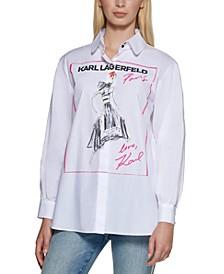 Fashion Girl Cotton Shirt