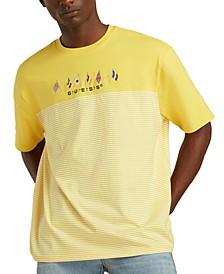 Men's Summer Games Striped T-Shirt