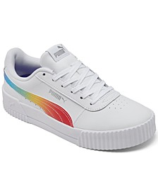 Women's Carina Rainbow Casual Sneakers from Finish Line