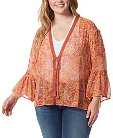 Trendy Plus Size Binx Kimono Top