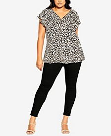 Plus Size Zip Prowess Top