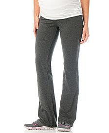 Motherhood Maternity Foldover-Waist Maternity Yoga Pants