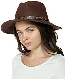 Wool Horse-Bit Band Panama Hat, Created for Macy's