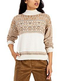 Ezor Mock Neck Sweater