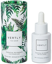 CBD-Infused Essential Nutrients Face Serum For Glowing Skin