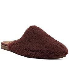 Women's Colliey Plush Slipper Mules