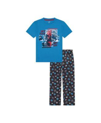 Big Boys 2 Piece Any Field Long Leg Pajama Set