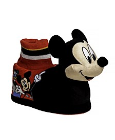 Toddler Boys Mickey Mouse Slippers