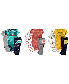 Baby Girls & Boys Cotton Bodysuits & Pants Separates