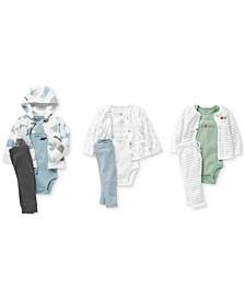Baby Girls & Boys Bodysuits, Cardigans, & Pants Separates