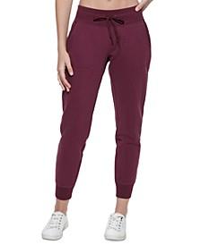 Women's Ribbed-Trim Jogger Pants
