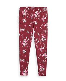 Big Girls Floral Print Basic Legging, Created for Macy's