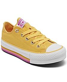 Big Girls EVA Platform Casual Sneakers from Finish Line