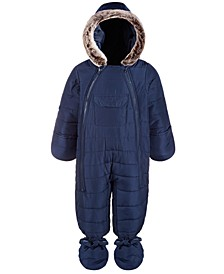 Baby Boys Hooded Snowsuit, Created for Macy's