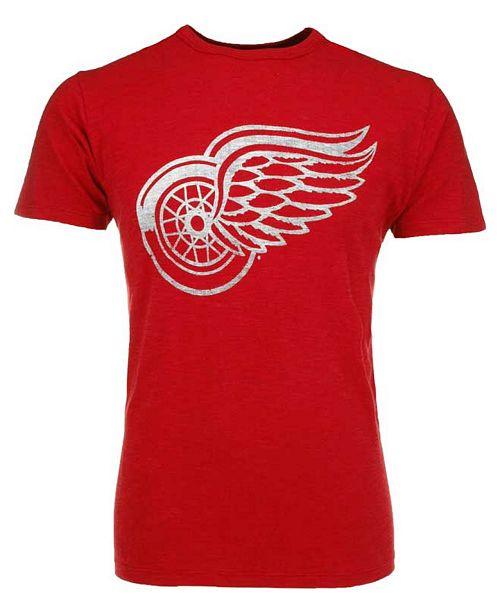 '47 Brand Men's Short-Sleeve Detroit Red Wings Scrum Logo T-Shirt