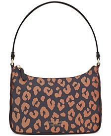 Sam The Little Better Leopard Small Shoulder Bag