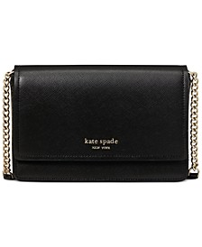 Spencer Flap Chain Leather Wallet