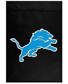 Party Animal Detroit Lions Garden Flag