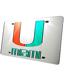 Stockdale Miami Hurricanes License Plate