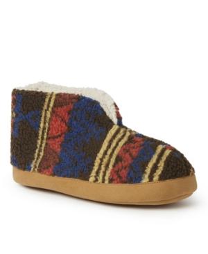 Men's Haven Warm Up Printed Teddy Bootie Slippers Men's Shoes